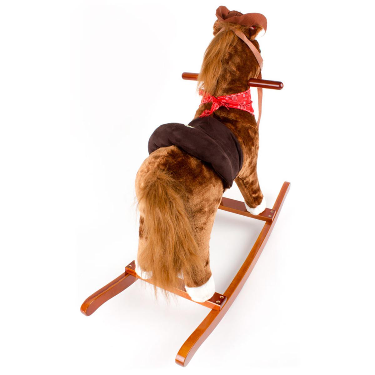 Baby altalena cavallo a dondolo peluche giocattolo sega for Altalena a dondolo