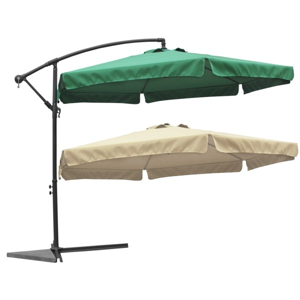 ampelschirm sonnenschirm gartenschirm kurbel system schirm marktschirm uv schutz ebay. Black Bedroom Furniture Sets. Home Design Ideas