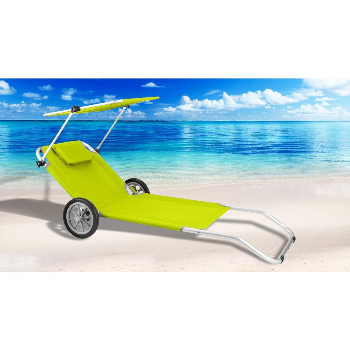 Strandliege mit dach  Gartenliege Mit Dach. alu sonnenliege mit sonnendach strandliege ...