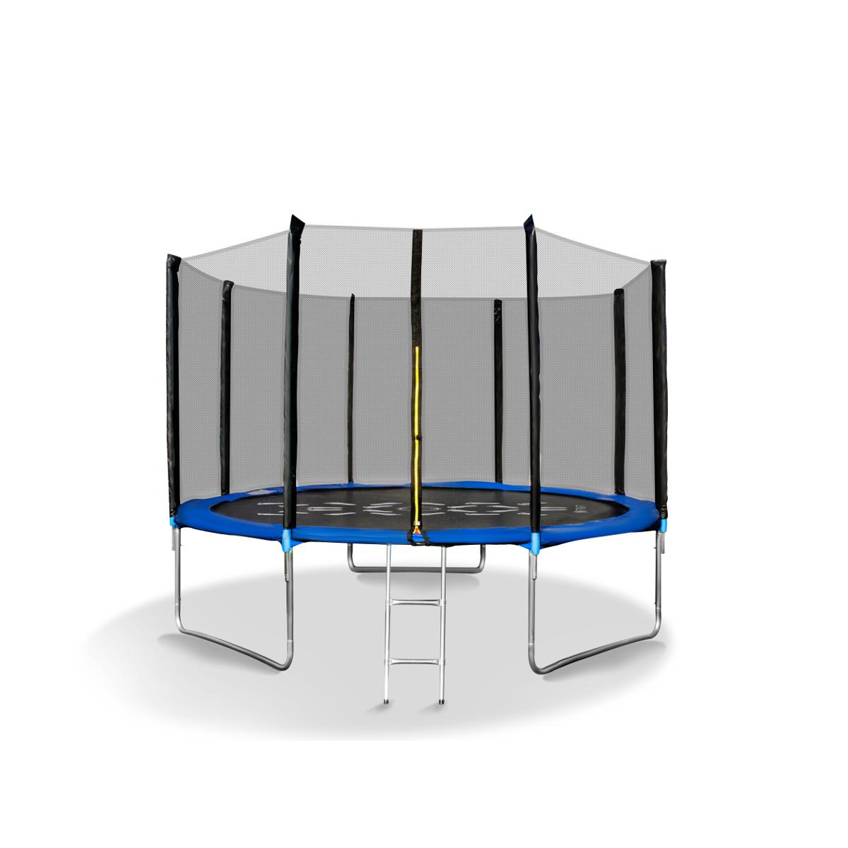 fitkraft gartentrampolin trampolin 305 cm mit netz und. Black Bedroom Furniture Sets. Home Design Ideas