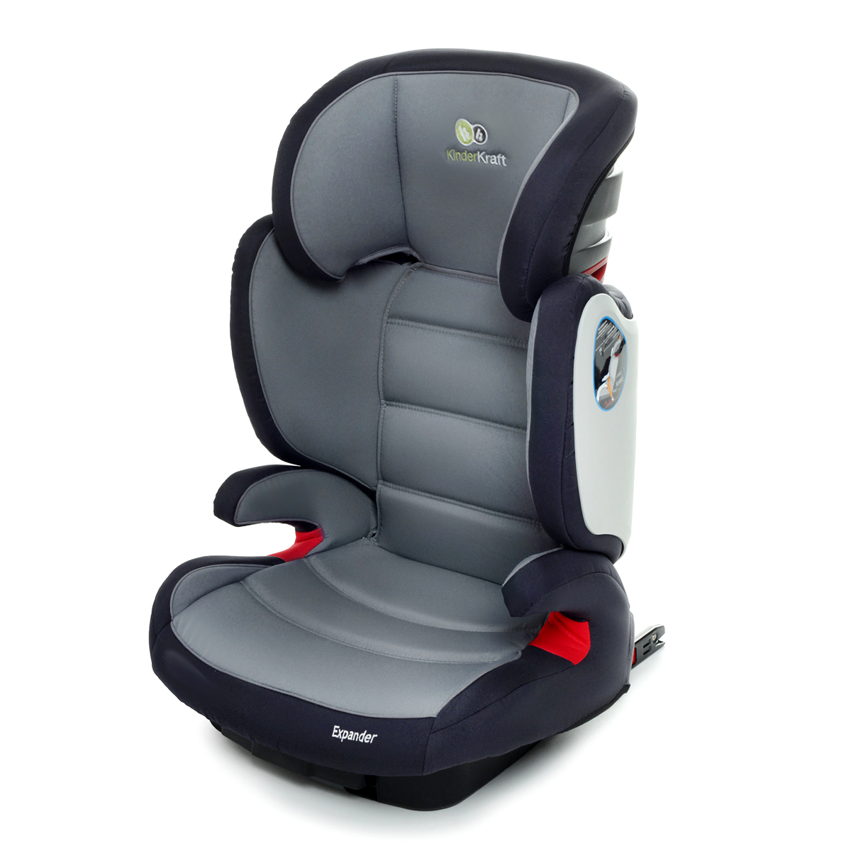 isofix kindersitz 15 bis 36 kg gruppe 2 3 kinderautositz autositz expander grau ebay. Black Bedroom Furniture Sets. Home Design Ideas