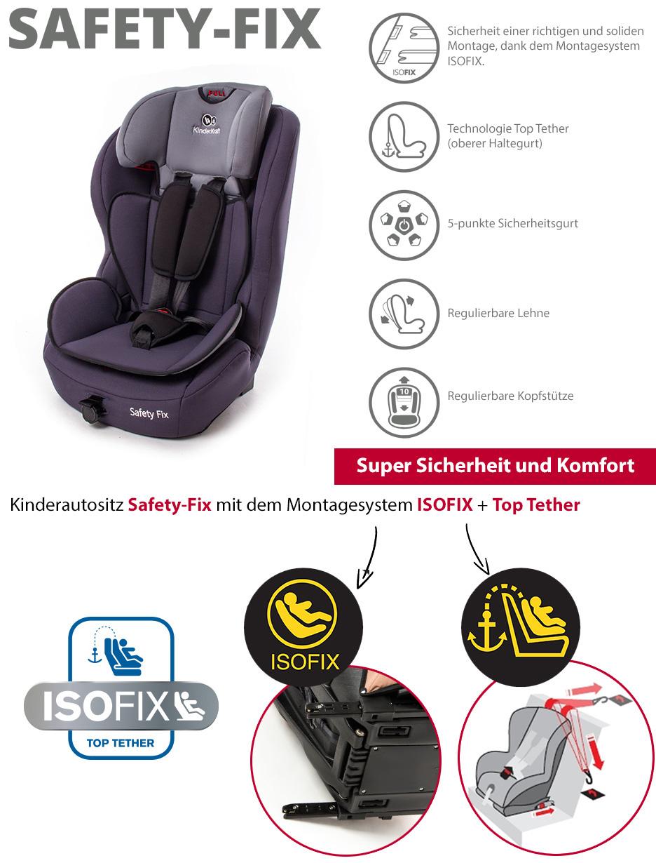 isofix kinderautositz autokindersitz kindersitz autositz safetyfix rot ebay. Black Bedroom Furniture Sets. Home Design Ideas