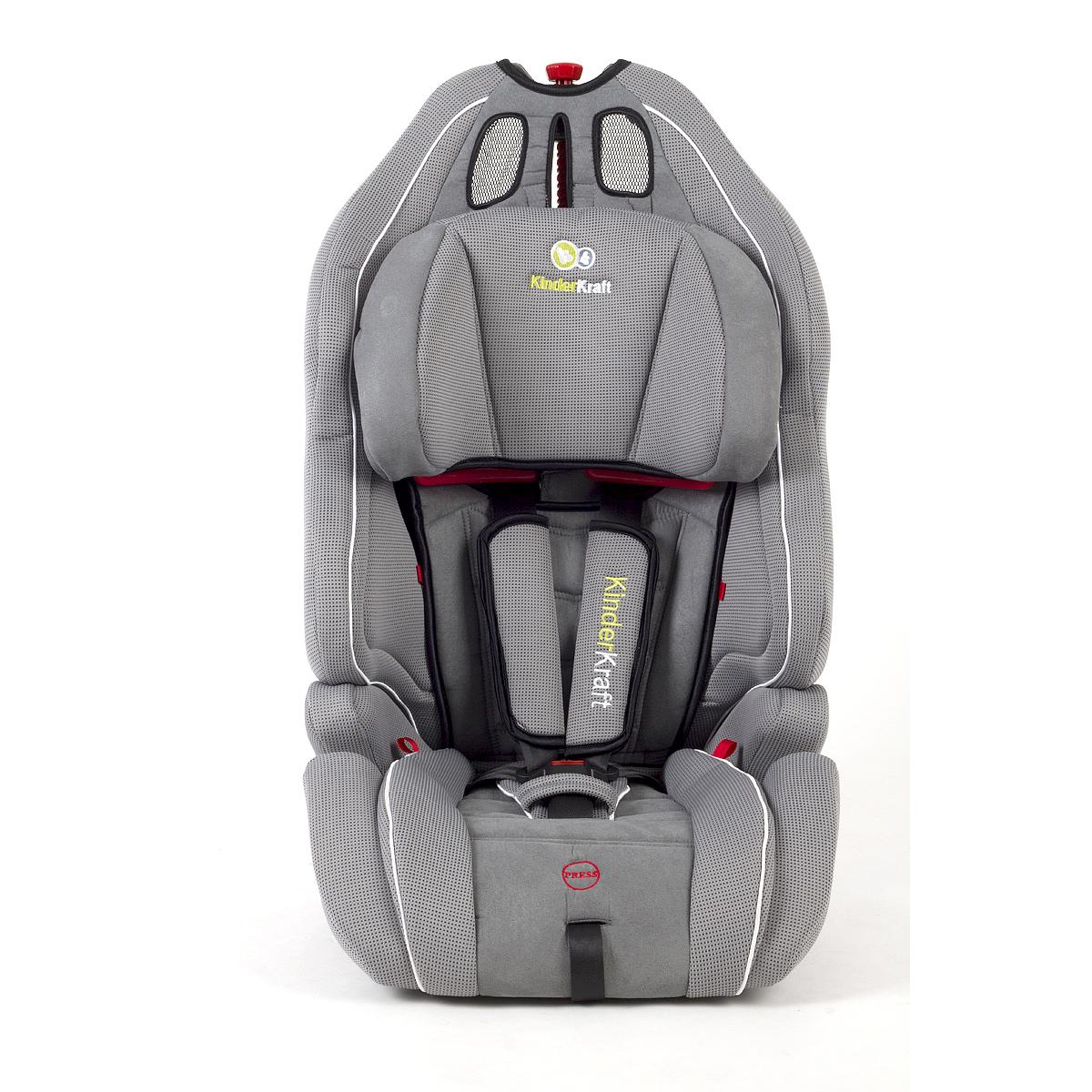 autositz 9 36 kg kindersitz gruppe 1 2 3 eu norm 9 36kg kinder smart grau ebay. Black Bedroom Furniture Sets. Home Design Ideas
