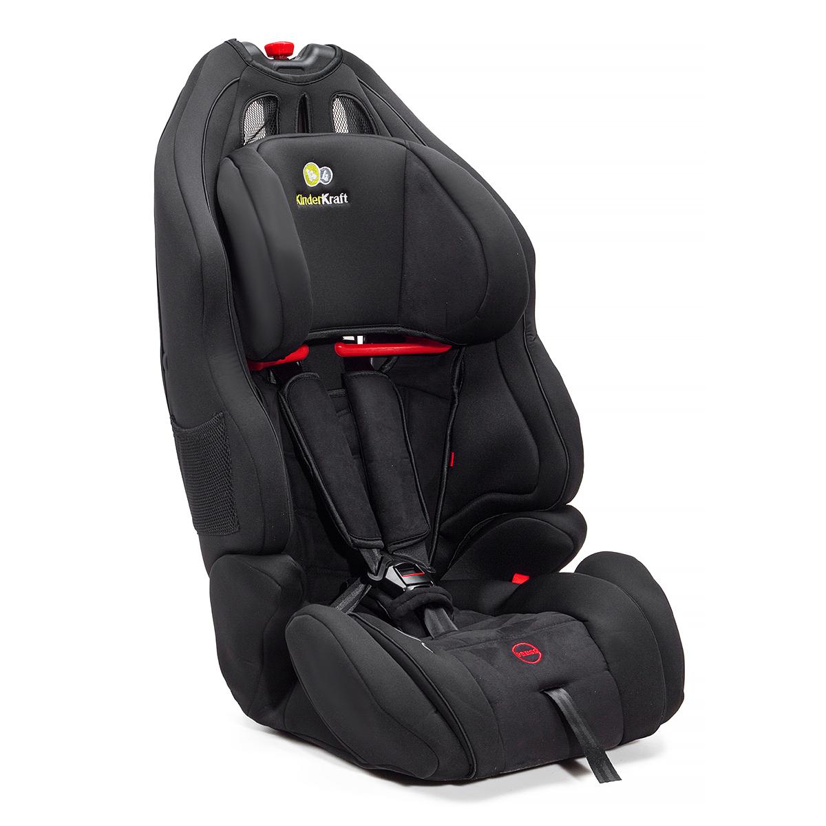 kinderautositz kindersitz autositz 9 bis 36 kg gruppe 1 2 3 smart up schwarz ebay. Black Bedroom Furniture Sets. Home Design Ideas