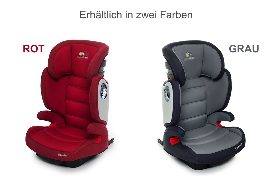 isofix kindersitz 15 bis 36 kg gruppe 2 3 kinderautositz autositz 2 farben exp ebay. Black Bedroom Furniture Sets. Home Design Ideas