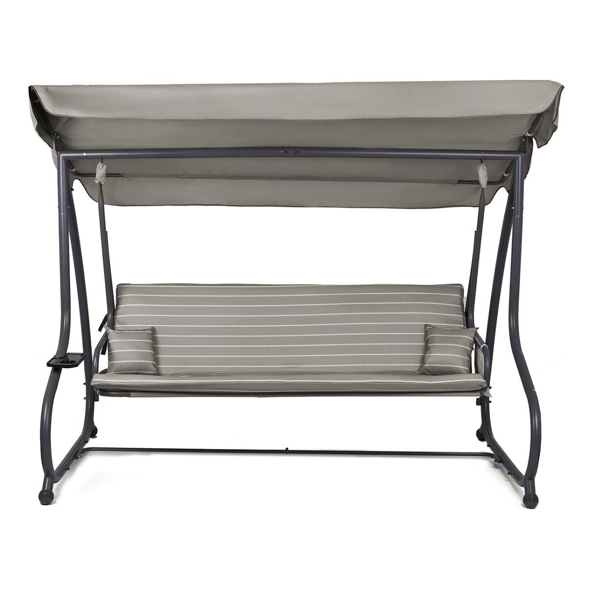 hollywoodschaukel gartenschaukel schaukelbank 4 sitzer. Black Bedroom Furniture Sets. Home Design Ideas