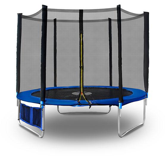 outdoor trampolin 250 cm netz sicherheitsnetz gartentrampolin zubeh r komplett. Black Bedroom Furniture Sets. Home Design Ideas