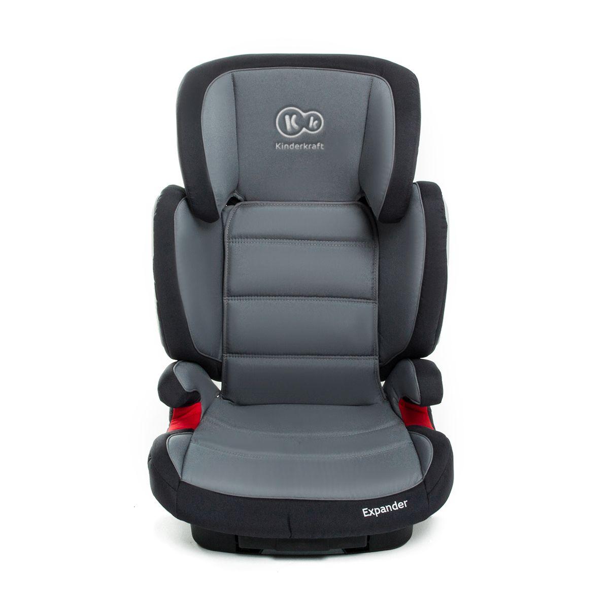 isofix seggiolino per bambini 15 fino a 36 gruppo kg 2 3 auto expander grigio ebay. Black Bedroom Furniture Sets. Home Design Ideas