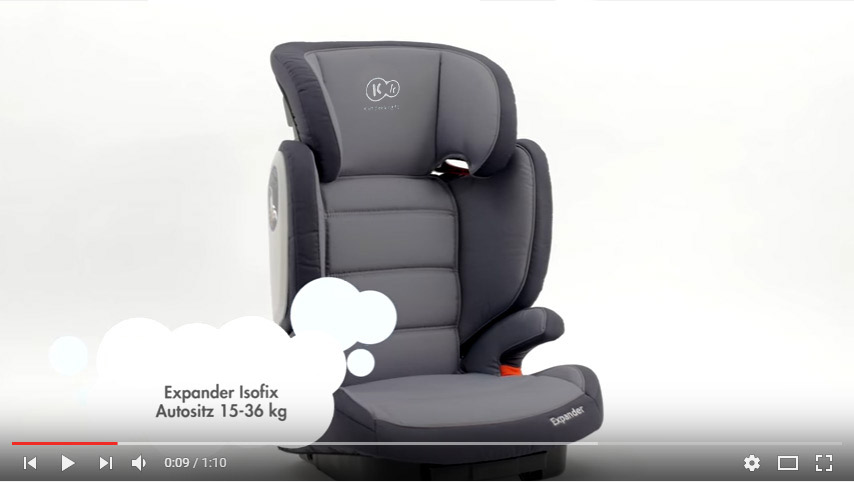 kinderautositz isofix kindersitz autositz 15 bis 36 kg gruppe 2 3 expander rot. Black Bedroom Furniture Sets. Home Design Ideas