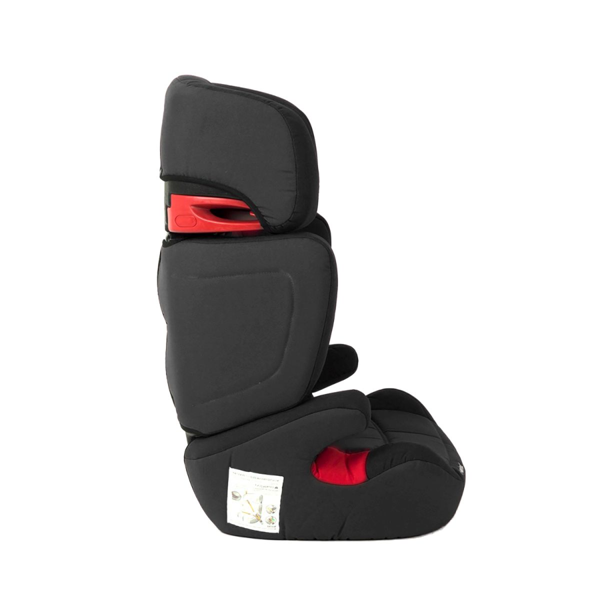Kinderkraft junior ox noir si ge voiture pour b b chaise for Chaise kinderkraft