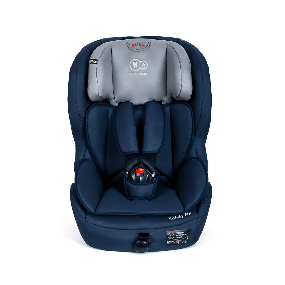 kinderkraft safetyfix bleu fonc isofix si ge voiture pour b b 9 de 36 kg. Black Bedroom Furniture Sets. Home Design Ideas