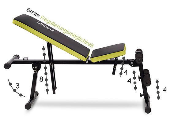 multifunktionsbank abdominaux multipositionsbank banc de musculation banc neuf ebay. Black Bedroom Furniture Sets. Home Design Ideas