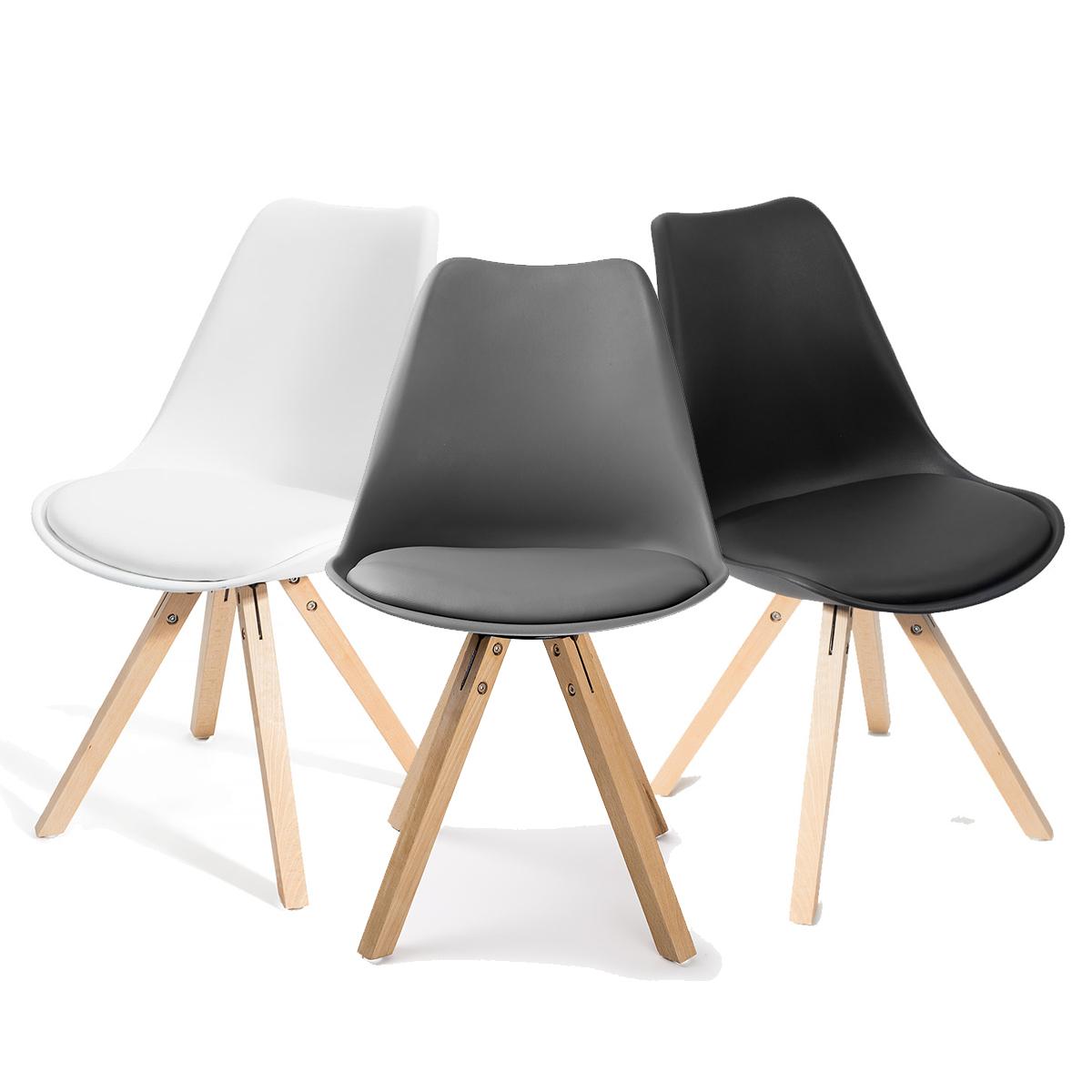 Salle chaise de salon cuisine si ges chaises 4 mod les for Chaise de salon
