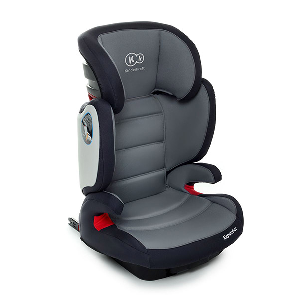 isofix kindersitz 15 bis 36 kg gruppe 2 3 kinderautositz autositz expander grau ebay. Black Bedroom Furniture Sets. Home Design Ideas