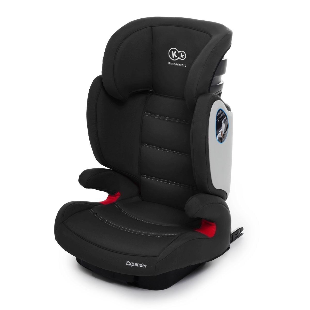isofix kindersitz 15 36 kg gruppe 2 3 kinderautositz autositz expander schwarz ebay. Black Bedroom Furniture Sets. Home Design Ideas