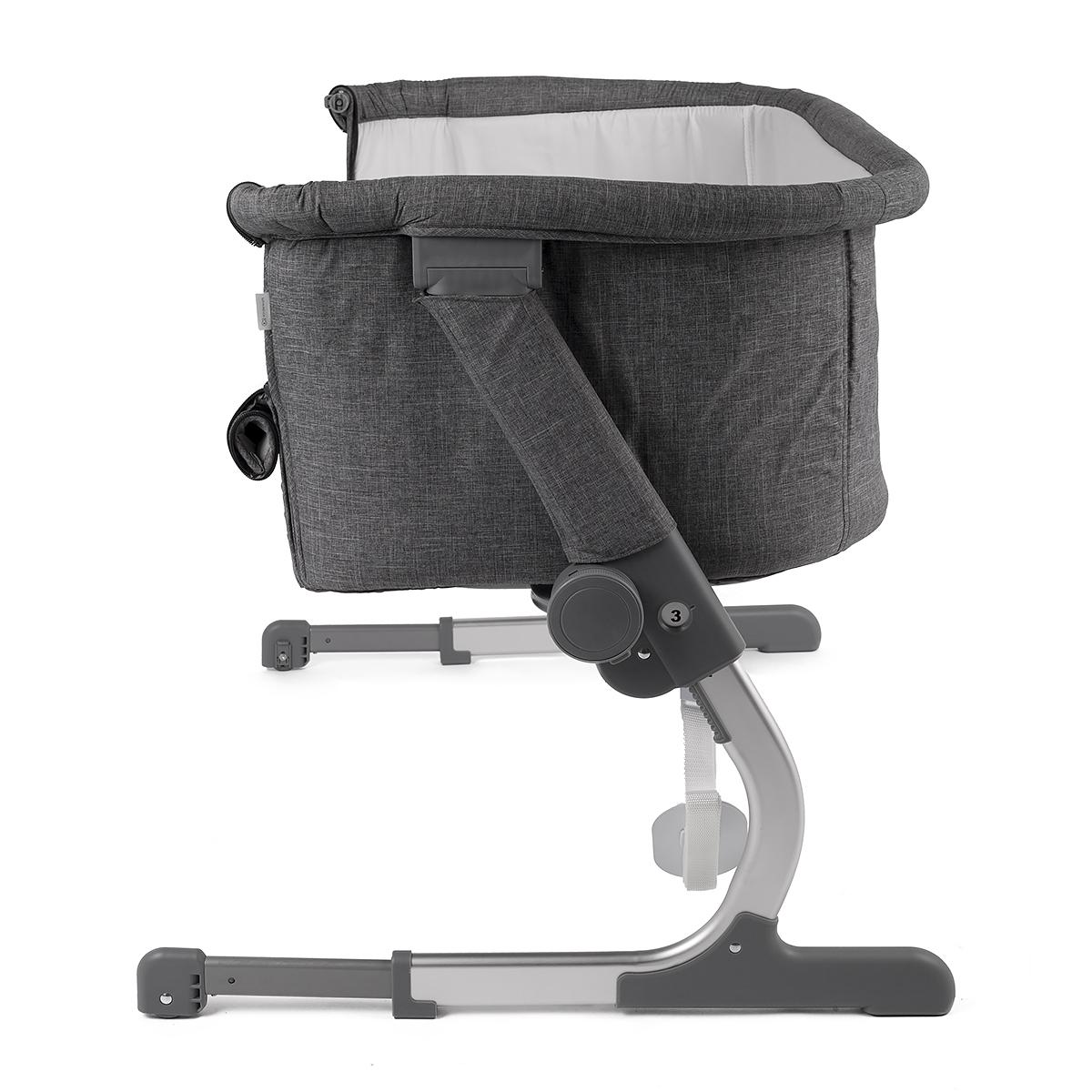 kinderkraft uno 2in1 beistellbett mit matratze babybett kinder baby reisebett ebay. Black Bedroom Furniture Sets. Home Design Ideas